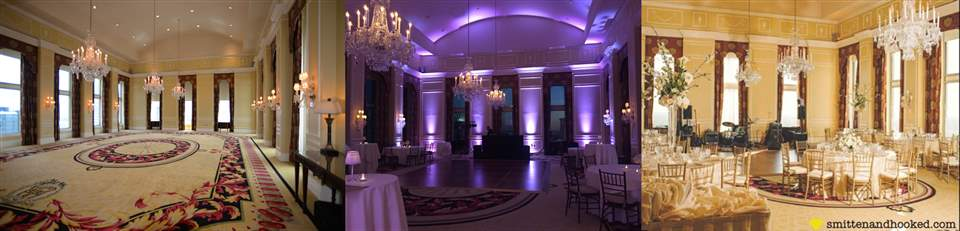 Queen Charlotte Ballroom Charlotte City Club Uptown Charlotte Crystal Chandeliers